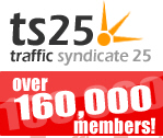 ts25 traffic exchange join free, surf and earn traffic, free traffic, 160,000 members worldwide, get traffic to your website.